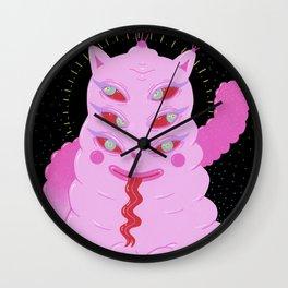 Lumpy Space Cat Wall Clock
