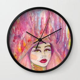 Head in the Clouds Wall Clock