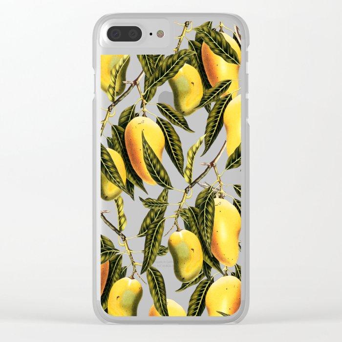 Mango Season #society6 #decor #buyart Clear iPhone Case
