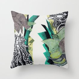 Tropic Tingles Throw Pillow