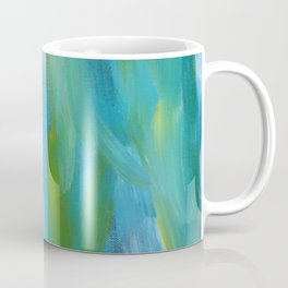 Abstract Leaves Coffee Mug