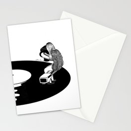 Don't Just Listen, Feel It Stationery Cards