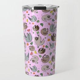 Cute Sloths Travel Mug