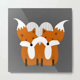 Best friends Metal Print