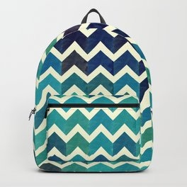 Colorful Chevron Pattern V Backpack