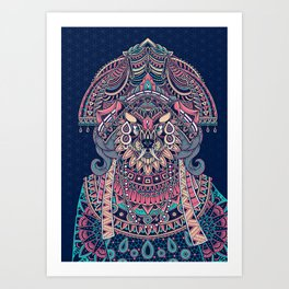 Queen of Solitude Art Print