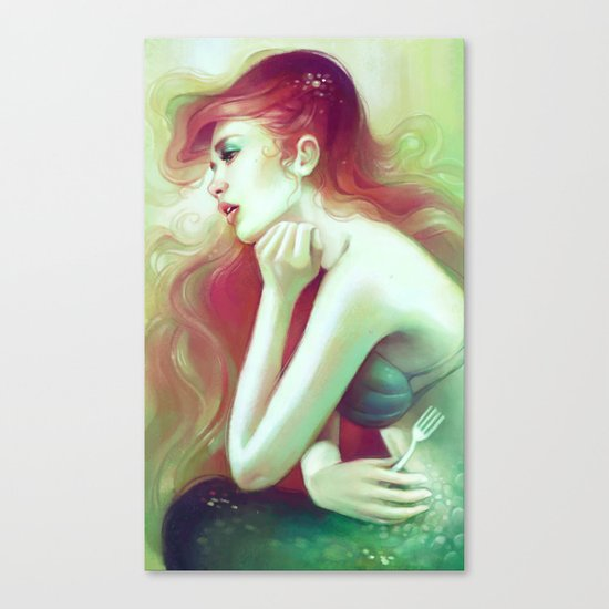 Out of the Sea Canvas Print
