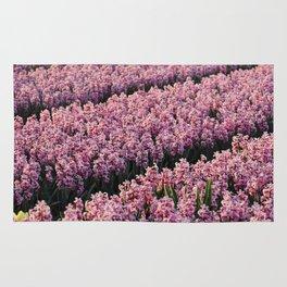 Hyacinth field Rug