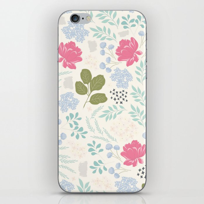 Ella Floral Pattern iPhone Skin