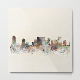 nashville city skyline Metal Print