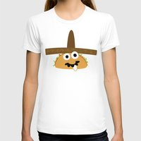 taco T-shirts featuring Senior Taco by Pig & Pumpkin
