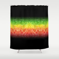 One Love Ombre Shower Curtain