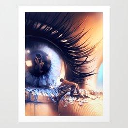Show me love Art Print