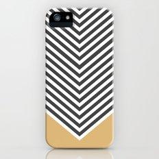 Gold Chevron iPhone (5, 5s) Slim Case