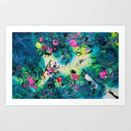 Searching for hoMe Art Print
