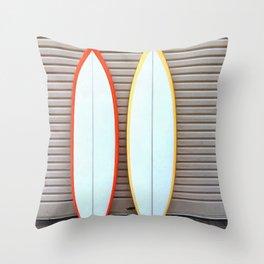 Surfin' Throw Pillow