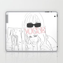Anna Fashion Editor Laptop & iPad Skin