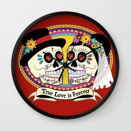 Los Novios (English) Wall Clock