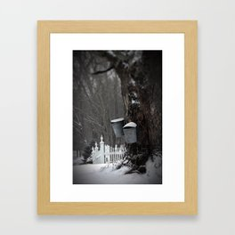 Sugaring 1 - Maple Syrup Framed Art Print