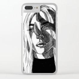 g a g a Clear iPhone Case