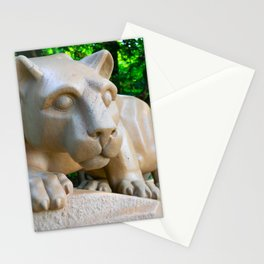 Nittany Lion Statue Print Stationery Cards