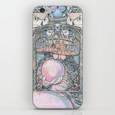 Wizard print iPhone & iPod Skin