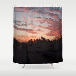 Sun Flare Shower Curtain