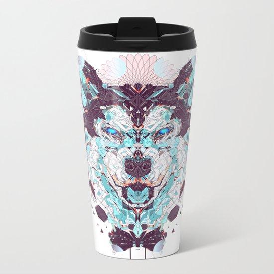 husky Metal Travel Mug