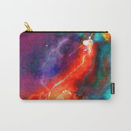 Freedom Abstract Letter Carry-All Pouch