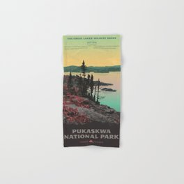 Pukaskwa National Park Hand & Bath Towel
