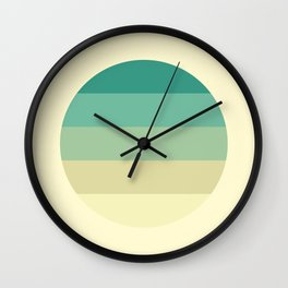 Sweet Georgia Breezes Wall Clock