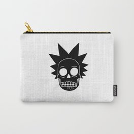 rick morty skull Carry-All Pouch