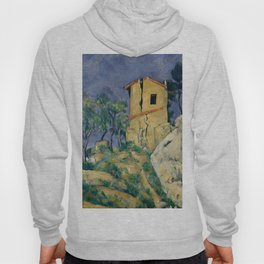 """Paul Cezanne """"The House with the Cracked Walls"""" Hoody"""