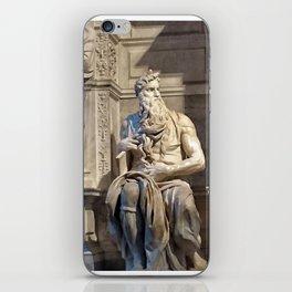 Moisés iPhone Skin