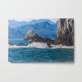 Pacific ocean bay Metal Print