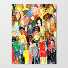People, 2013. Canvas Print