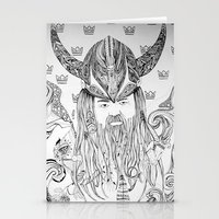 viking Stationery Cards featuring Viking by Infra_milk