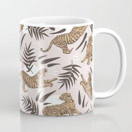 Tigers and Bamboo Leaves Coffee Mug