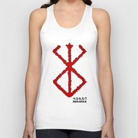 berserk Tank Tops featuring Berserk Sacrifice by Vortha