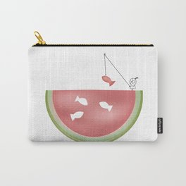 Watermelon fishing Carry-All Pouch