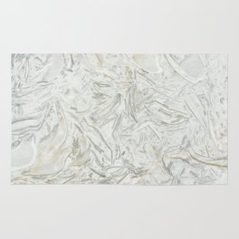 Grey marble surface pattern Rug