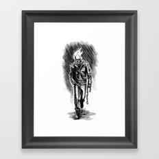 GhostRider Framed Art Print