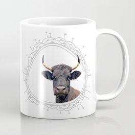Yellow Horns Coffee Mug