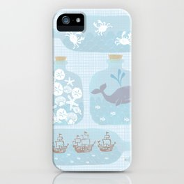 Collecting Summer iPhone Case