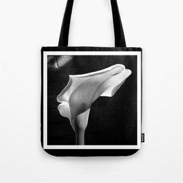 sensual lily on brick Tote Bag