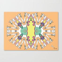 Caleidoscópicas [1] Canvas Print