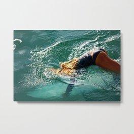 Surfer Girl1 Metal Print