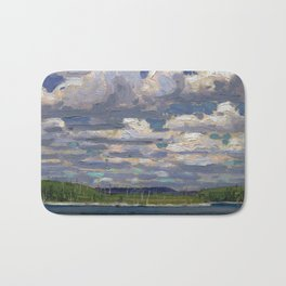 Tom Thomson - Summer Day - Canada, Canadian Oil Painting - Group of Seven Bath Mat