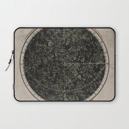 Constellations of the Northern Hemisphere on Vintage Paper Laptop Sleeve