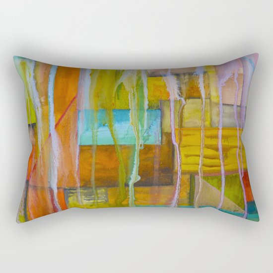 Improvisation 24 Rectangular Pillow